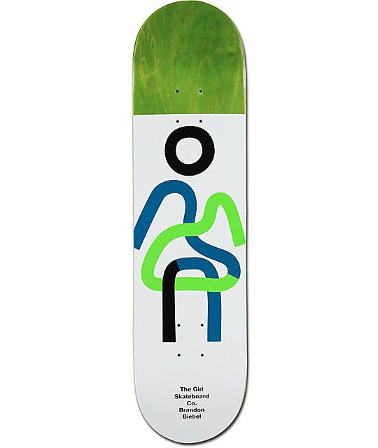 """Girl Biebel Twisted OG 8.0"""" Skateboard Deck"""