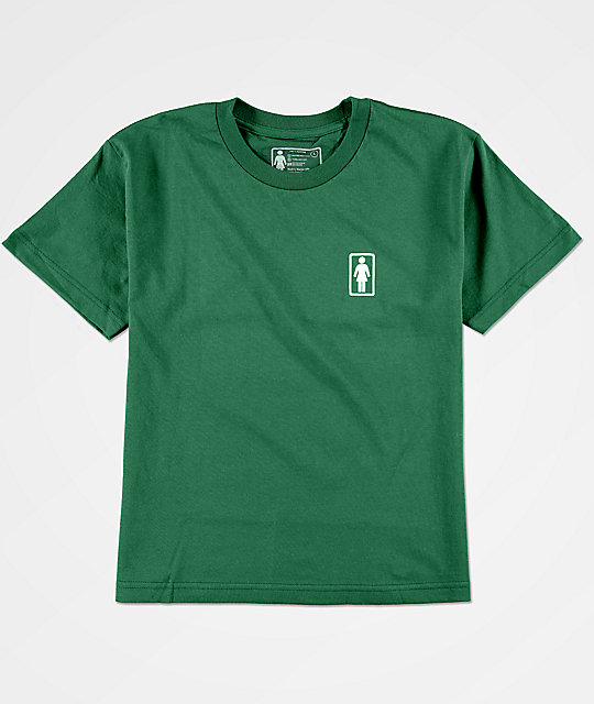 Girl Boys 93 OG Forest Green T-Shirt