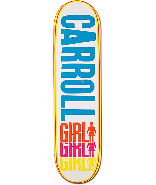 "Girl Carroll Triple 8.12""  Skateboard Deck"