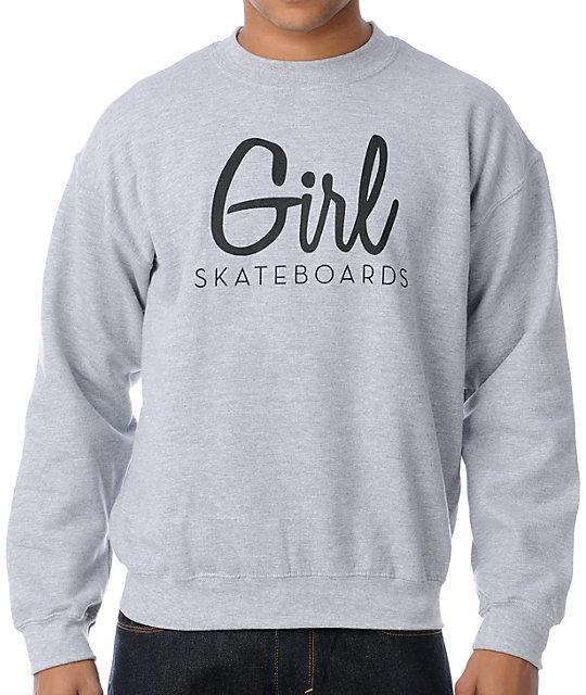 Century Heather Grey Crew Neck Sweatshirt