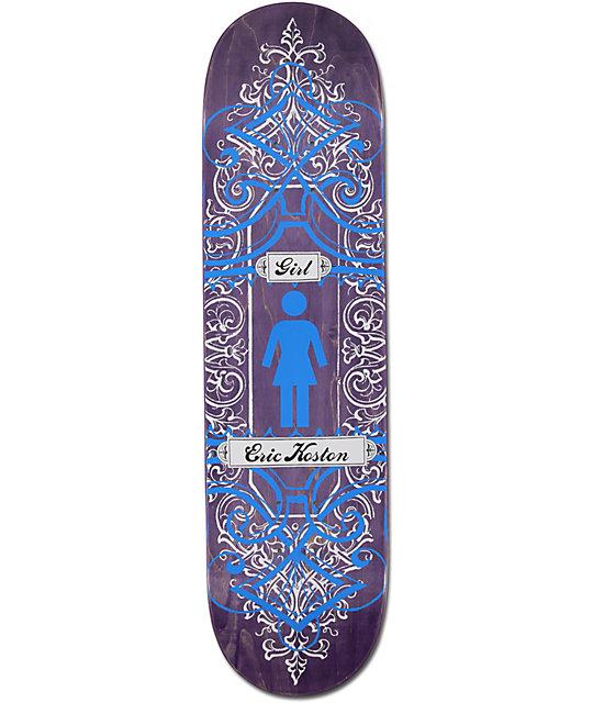 """Girl Eric Koston 8.25""""  Centurion Skateboard Deck"""