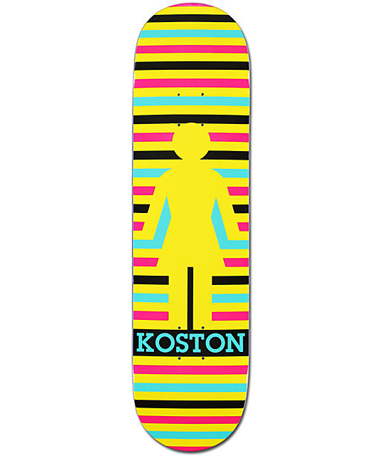 "Girl Eric Koston Geo 8.25""  Skateboard Deck"