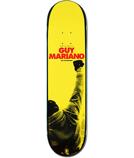 "Girl Guy Mariano Eye Of The Tiger 8.12""  Skateboard Deck"