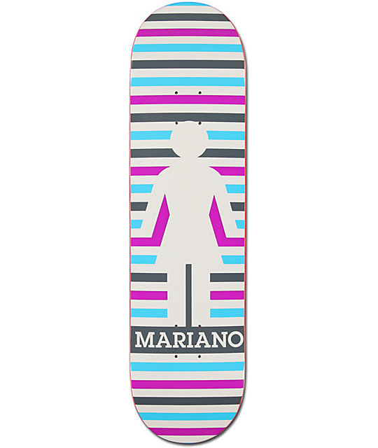 "Girl Guy Mariano Geo 8.125""  Skateboard Deck"