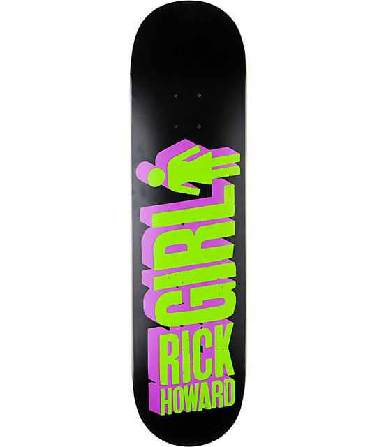 "Girl Howard Big Girl 3D 8.125""  Skateboard Deck"