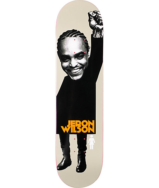 "Girl Jeron Wilson Power 8.0""  Skateboard Deck"