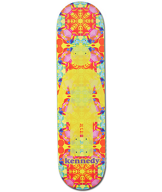 "Girl Kennedy Kaleidoscope 7.75""  Skateboard Deck"