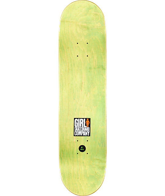 "Girl Kennedy Sasquatch 8.0""  Skateboard Deck"