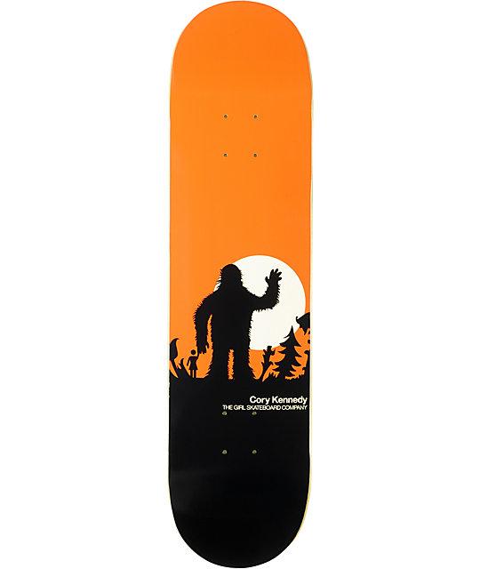"Girl Kennedy Sasquatch 8.0""  Skateboard Deck"