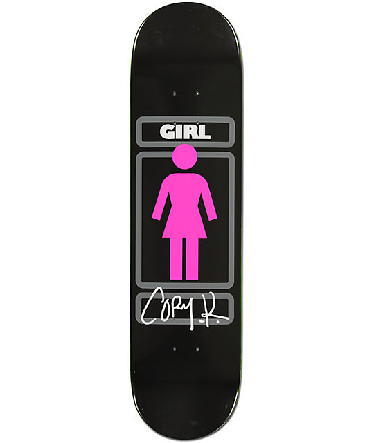 "Girl Kennedy Sign Here 8.0""  Skateboard Deck"