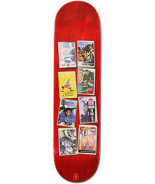 "Girl Kennedy Tape 8.0""  Skateboard Deck"