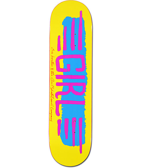 "Girl Koston BA Wings 8.0""  Skateboard Deck"