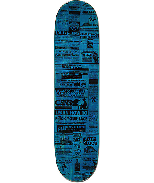 "Girl Koston Classified 8.12""  Skateboard Deck"