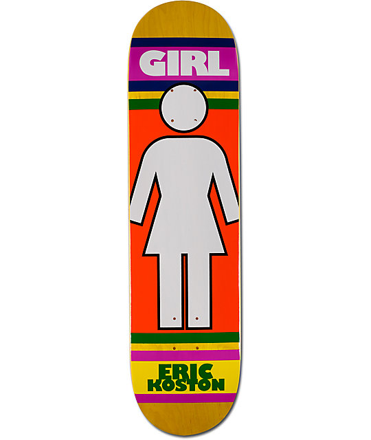 "Girl Koston Megajamz 8.0""  Skateboard Deck"