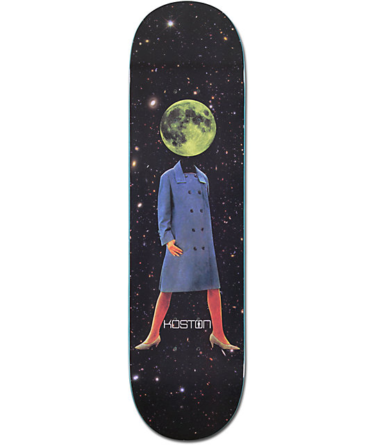 "Girl Koston Space Girl 8.0""  Skateboard Deck"