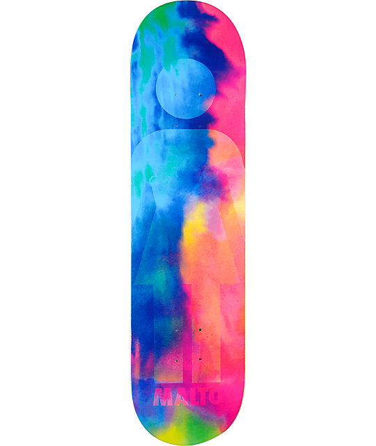 "Girl Malto Acid Drip 8.1""  Skateboard Deck"