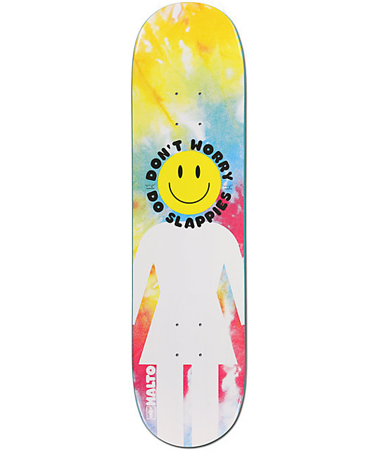 "Girl Malto Do Slappies 8.0""  Skateboard Deck"