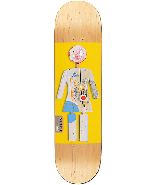"Girl Malto On Exhibit 8.125""  Skateboard Deck"