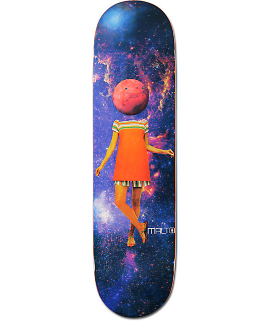 "Girl Malto Space Girl 8.125""  Skateboard Deck"