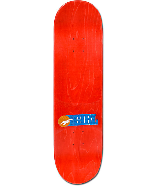 "Girl Mariano Bumper Sticker 8.125""  Skateboard Deck"