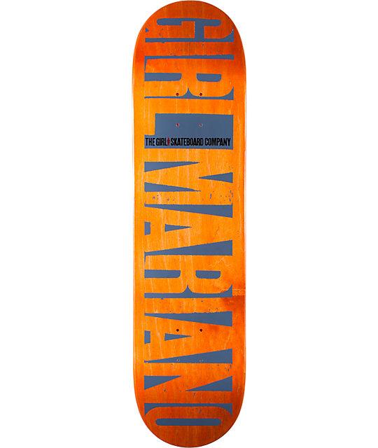 "Girl Mariano Invert 8.0""  Skateboard Deck"