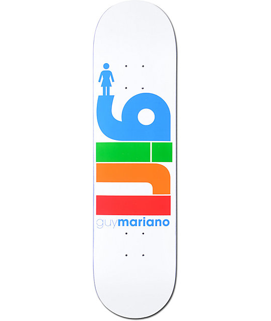 "Girl Mariano Life 8.125""  Skateboard Deck"