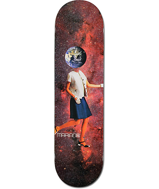 "Girl Mariano Space Girl 8.125""  Skateboard Deck"
