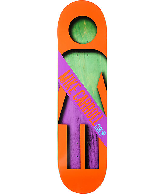"Girl Mike Carroll Half And Half 8.125""  Skateboard Deck"