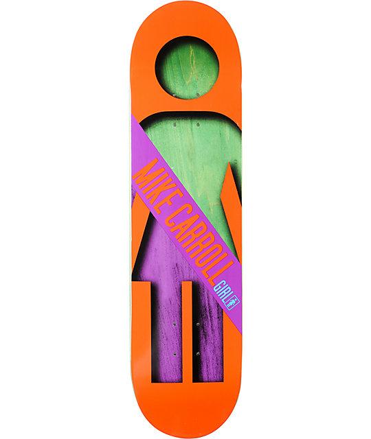 "Girl Mike Carroll Half And Half 8.125""  Skateboard Deck"