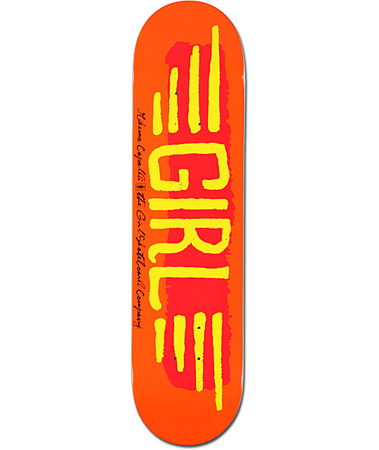 "Girl Mike Mo BA Wings 7.8""  Skateboard Deck"