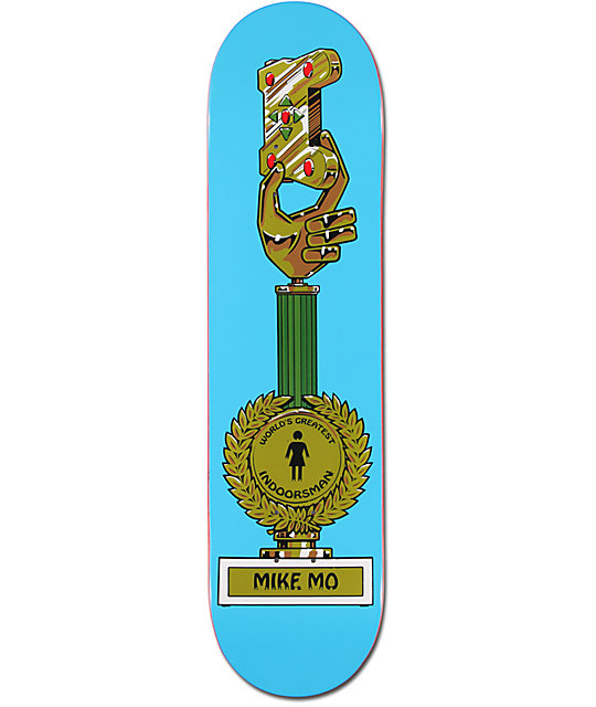 "Girl Mike Mo Crail=D 7.8""  Skateboard Deck"