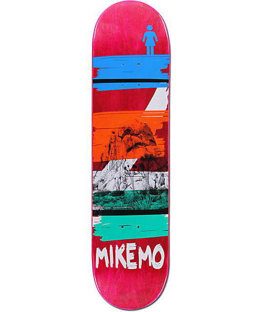 "Girl Mike Mo Darkroom 8.0""  Skateboard Deck"