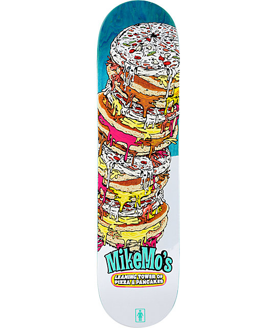 "Girl Mike Mo Leaning Tower 8.0""  Skateboard Deck"