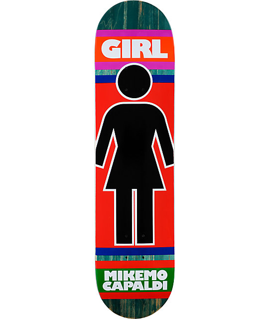 "Girl Mike Mo Megajamz 7.81""  Skateboard Deck"