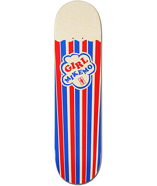 "Girl Mike Mo Popcorn 8.0""  Skateboard Deck"