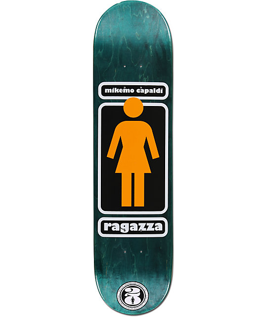 "Girl Mike Mo Ragazza 8.0""  Skateboard Deck"