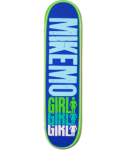 "Girl Mike Mo Triple 8.0""  Skateboard Deck"