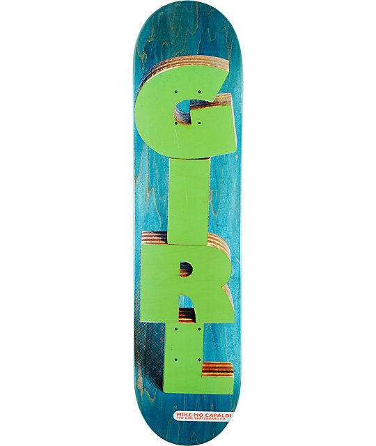 """Girl Mike Mo Wooden It Be Nice 7.5""""  Skateboard Deck"""
