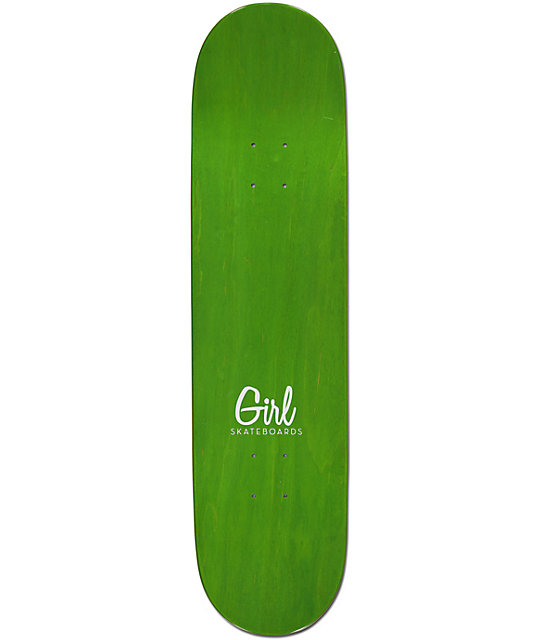 "Girl MikeMo Sign Here 7.75""  Skateboard Deck"