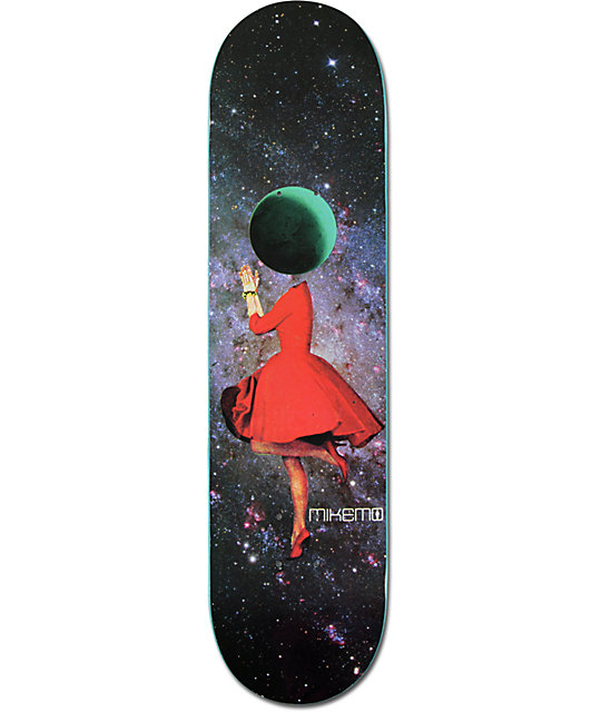 "Girl Mikemo Space Girl 8.0""  Skateboard Deck"