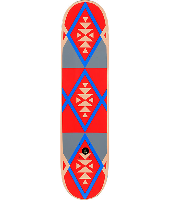 "Girl Mikemo Tribal 8.0""  Skateboard Deck"