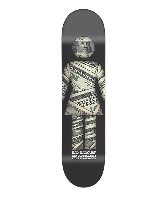 "Girl Mo Money Capaldi 7.8""  Skateboard Deck"
