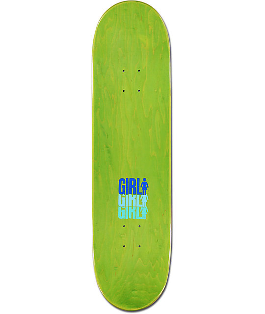 "Girl Olson Triple 8.37""  Skateboard Deck"