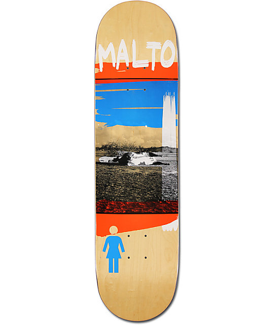 "Girl Sean Malto Darkroom 8.12""  Skateboard Deck"