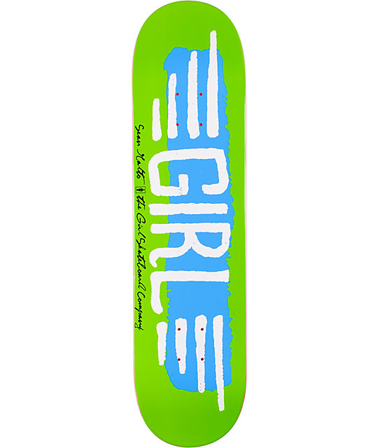 "Girl Skateboards BA Wings 8.0""  Sean Malto Skateboard Deck"