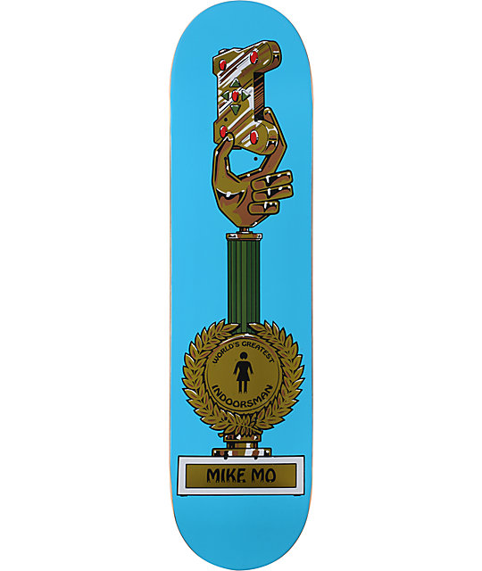 Girl Skateboards Mike Mo Crailys 7.8