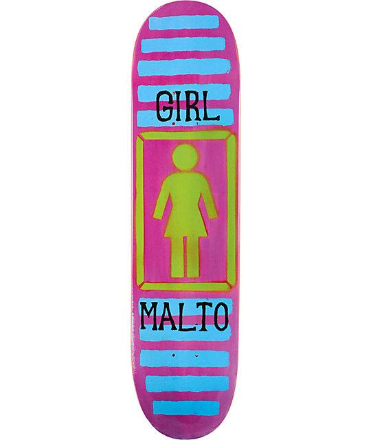 """Girl Skateboards Sean Malto BA OG 7.6""""  Skateboard Deck"""