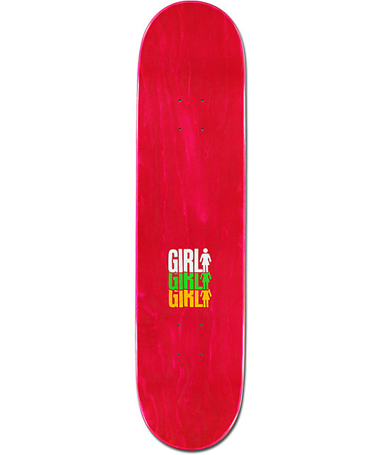 "Girl Wilson Triple 8.0""  Skateboard Deck"