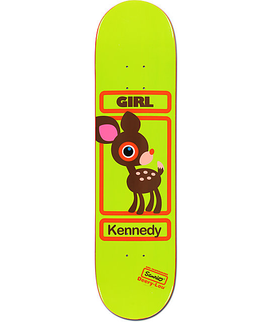 girl x sanrio kennedy hello kitty 8 0 skateboard deck. Black Bedroom Furniture Sets. Home Design Ideas