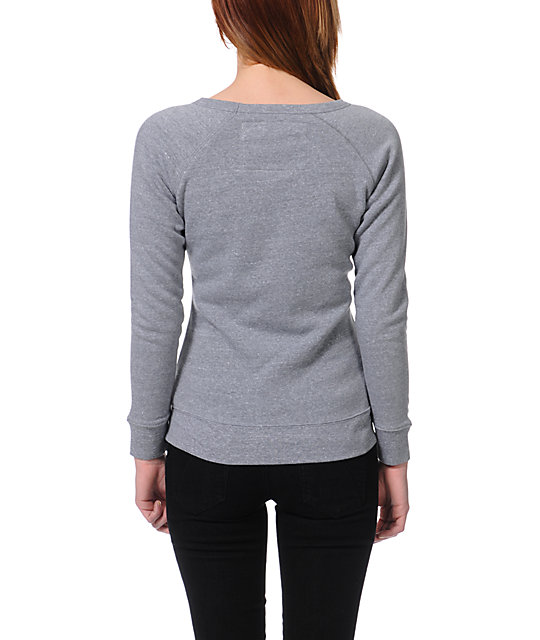 Glamour Kills AC Slayer Grey Crew Neck Sweatshirt